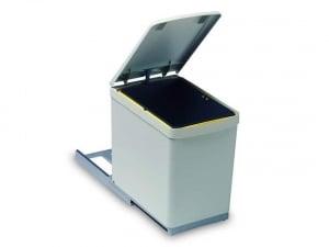 Cos de gunoi CR Davis cu un recipient 16 L pentru corp de 300 mm latime [0]