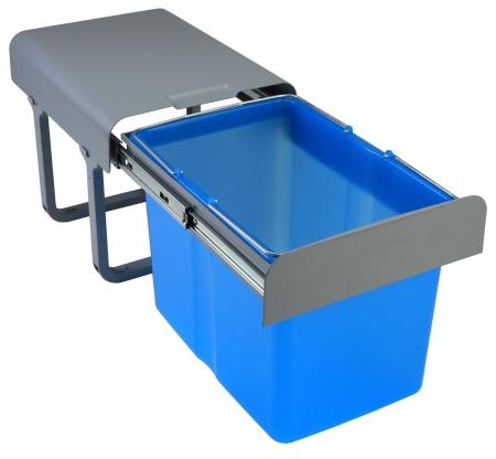 Cos de gunoi incorporabil Ekko  cu 1 compartiment x 34 litri0