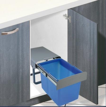 Cos de gunoi incorporabil Ekko  cu 1 compartiment x 34 litri1