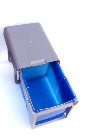 Cos de gunoi incorporabil Ekko Front cu 1 compartiment x 34 litri0