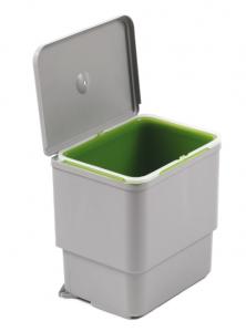 Cos de gunoi Sesamo incorporabil in dulap, cu 1 compartiment x 16 L, pentru corp de 450 mm latime0