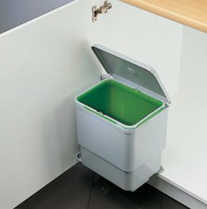 Cos de gunoi Sesamo incorporabil in dulap, cu 1 compartiment x 16 L, pentru corp de 450 mm latime1