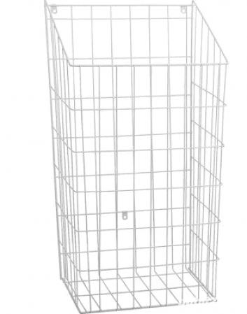 Cos rufe murdare incorporabil in dulap, alb 590 x 320 x 245 mm0