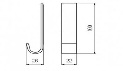 Agatatoare cuier plastic1