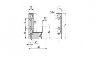 Cuier simplu K221