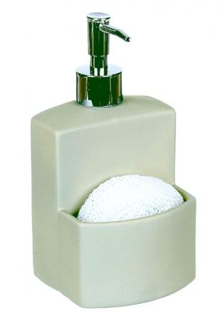 Dozator detergent lichid cu burete, vernil0
