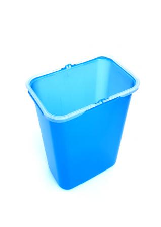 Galeata de schimb 8 l pentru cos de gunoi, albastra1