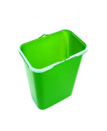 Galeata de schimb 8 l pentru cos de gunoi, verde1