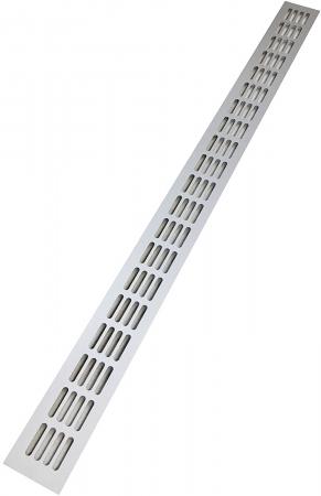 Gratar aerisire aluminiu 100x 1000 mm [0]