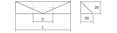 Maner pentru mobila Kares, finisaj nichel periat, L:152 mm1