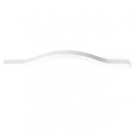 Maner pentru mobila Brave alb mat, L= 160 mm0