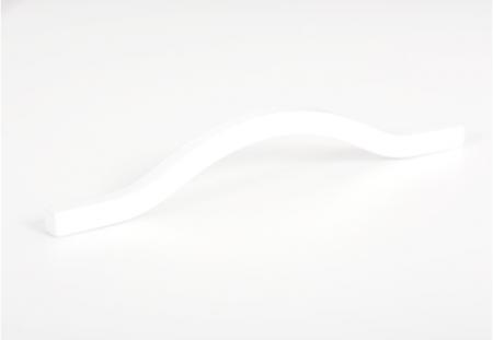 Maner pentru mobila Brave alb mat, L= 160 mm1