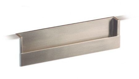 Maner pentru mobila Flat, finisaj nichel periat, L:174.8 mm [0]