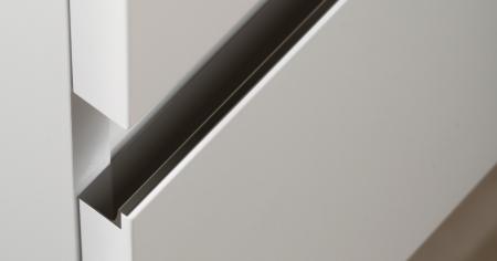 Maner pentru mobila Grada, finisaj negru mat, L:297 mm [0]