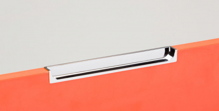 Maner pentru mobila Hide, finisaj crom lucios, L:180 mm [2]