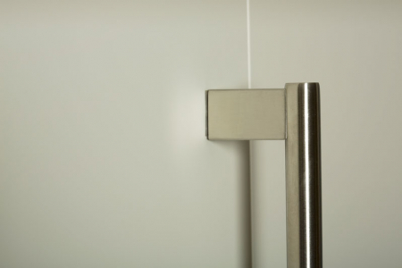 Maner pentru mobila Kombi Long, finisaj otel inoxidabil periat, L:814 mm [3]