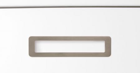 Maner pentru mobila Low, finisaj nichel periat, L:206 mm [1]