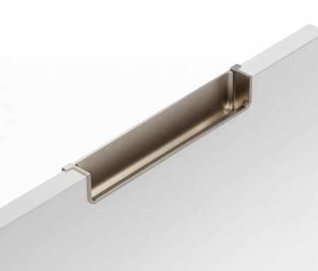 Maner pentru mobila Nest, finisaj nichel periat, L:212.5 mm [4]