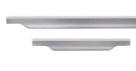 Maner pentru mobila Vector, finisaj gri periat, L:1197 mm [2]