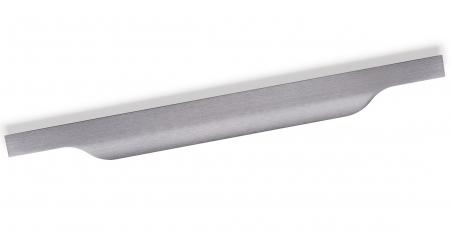 Maner pentru mobila Vector, finisaj gri periat, L:147 mm [0]