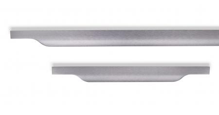 Maner pentru mobila Vector, finisaj gri periat, L:247 mm [2]