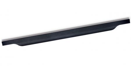 Maner pentru mobila Vector, finisaj negru periat, L:247 mm [0]