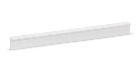 Maner pentru mobilier Angle, finisaj alb mat, L 600 mm0