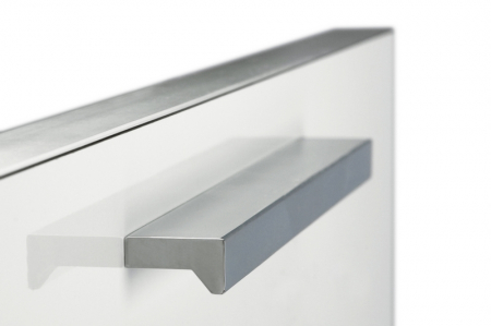 Maner pentru mobilier Angle, finisaj crom lucios, L 200 mm [1]