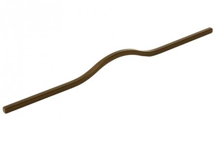 Maner pentru mobilier Brave maro metalizat, L= 600 mm1