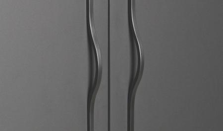 Maner pentru mobilier Brave negru mat, L= 400 mm1
