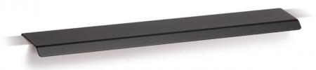 Maner pentru mobilier Cruve, negru mat, L: 200 mm0