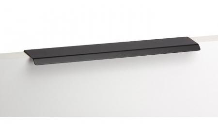 Maner pentru mobilier Cruve, negru mat, L: 200 mm1