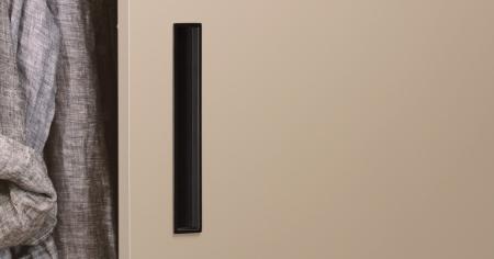 Maner pentru mobilier Cubic negru mat [0]