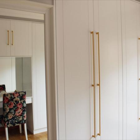Maner pentru mobilier Graf Mini Long, finisaj alama intunecata periata, L: 1200 mm4