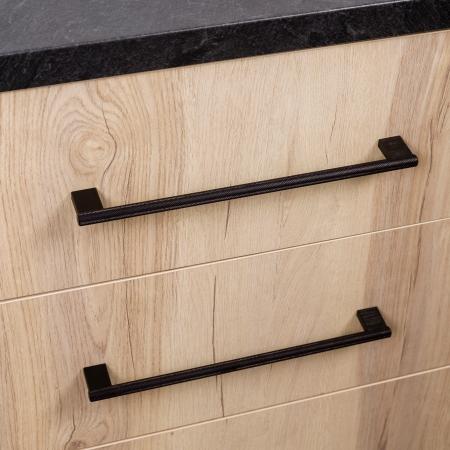 Maner pentru mobilier Graf2 negru, L= 182 mm1