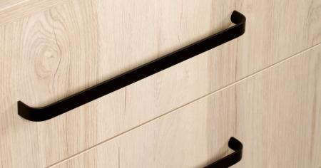 Maner pentru mobilier Sense Mini, negru mat, L: 263 mm0