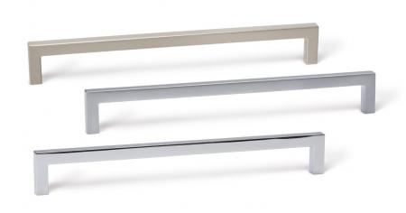 Maner pentru mobilier U alama periata L:168.5 mm [5]
