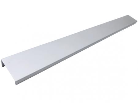 Maner pentru mobilier Way, finisaj aluminiu, L:800 mm0