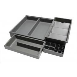 Organizator sertar pentru produse de machiaj ,tip VL , gri orion, 350 mm1