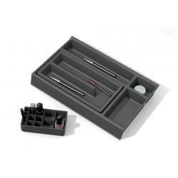 Organizator sertar pentru produse de machiaj ,tip VM , gri orion, 400 mm [0]