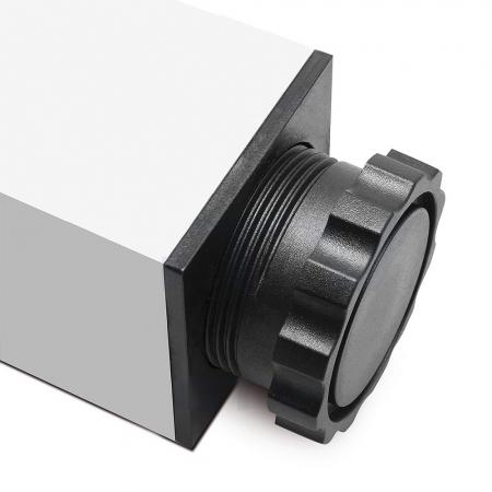 Picior cu profil patrat 46x46 mm, H710, pentru masa1