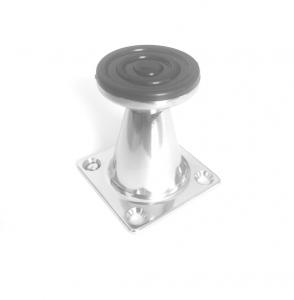 Picior metalic pentru mobilier H:50 mm finisaj crom1