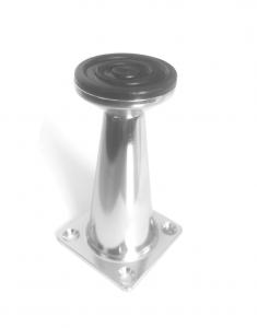 Picior metalic pentru mobilier H:80 mm finisaj crom1