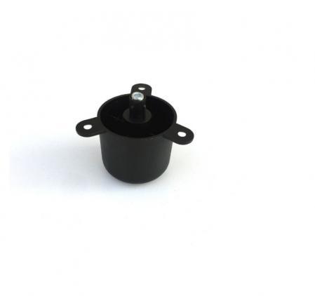 Picior negru reglabil pentru mobilier D 48 mm, H 44 mm1