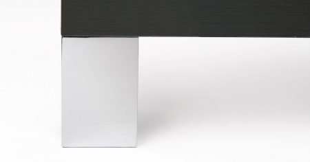 Picior pentru mobila Jazz, finisaj crom mat, H:91 mm [1]