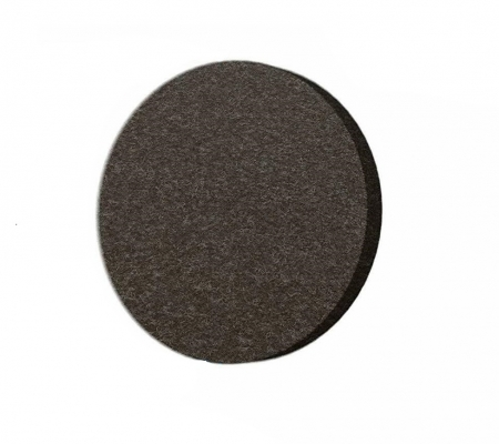 Protectie pasla autoadeziva pentru pardoseala, rotunda D 25 mm, maro, set 18 buc0