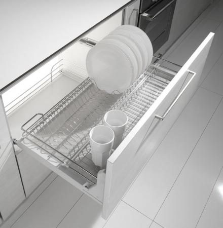Scurgator pentru vase, tip sertar cu amortizor, pentru latime corp 450 mm1