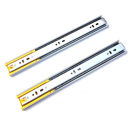 Set 2 glisiere pe bile cu amortizare si extragere totala 500 mm [1]