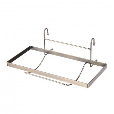 Set suporturi pentru bucatarie cu bara inclusa, finisaj alama2
