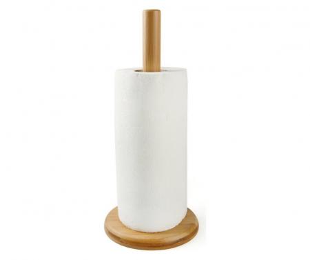 Suport rola hartie, bambus0